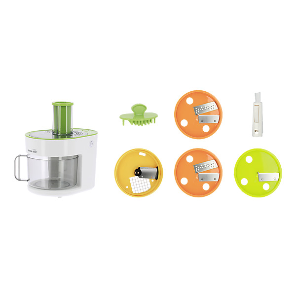 SLICE AND DICE - Robot Culinaire + Disque Supplémentaire